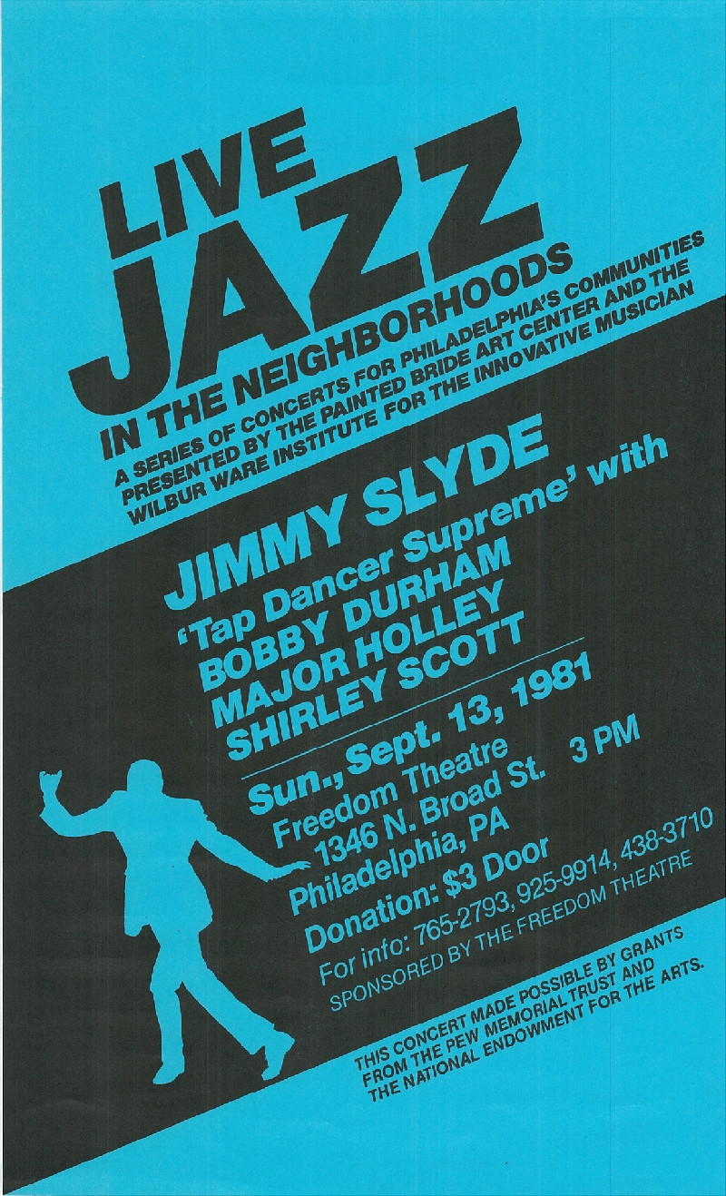 archival gems wilbur ware institute jimmy slyde shirley scott major holley and bobby durham
