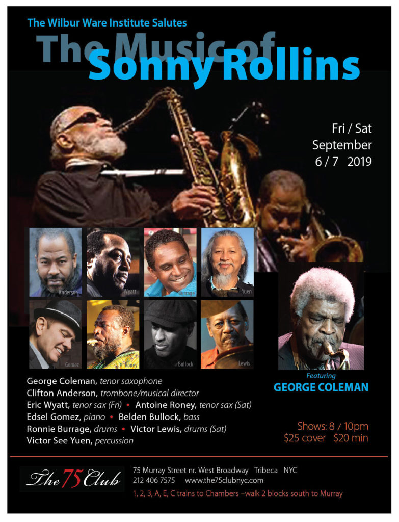 2019 Saluting the Music of Sonny Rollins
